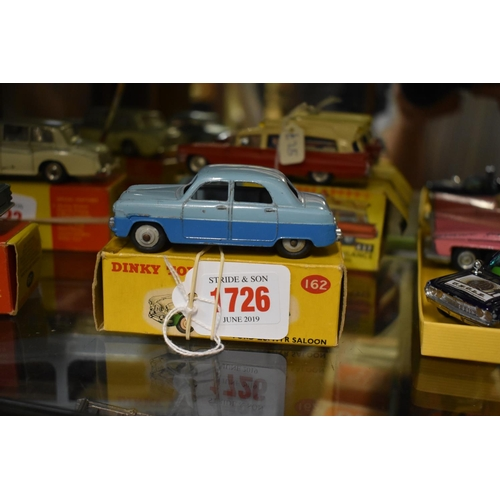 1726 - <strong>A Dinky 162 Ford Zephyr Saloon,</strong>boxed....