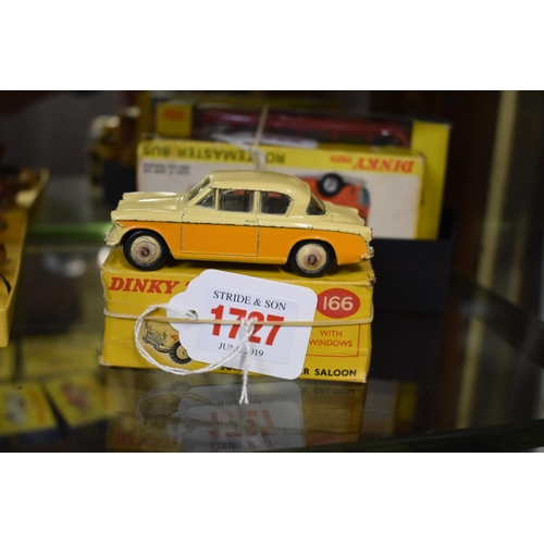 1727 - <strong>A Dinky 166 Sunbeam Rapier Saloon,</strong>boxed....