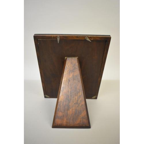 27 - <strong>A silver rectangular photograph frame,</strong> <em>bySanders & Mackenzie</em>, Bi...