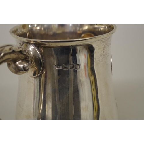 3 - <strong>Of Boer War interest: </strong>asilver baluster mug,inset South African coins commemoratin...