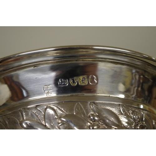 4 - <strong>A George IV silver pedestal vase,</strong><em>by Rebecca Eames & Edward Barnard l,</em>...