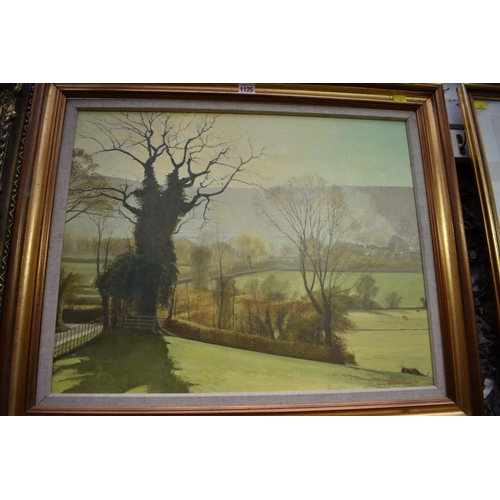 1125 - <strong>Noel Shepherdson,</strong> an autumn landscape, signed and dated '78, oil on canvas, 49 x 62...