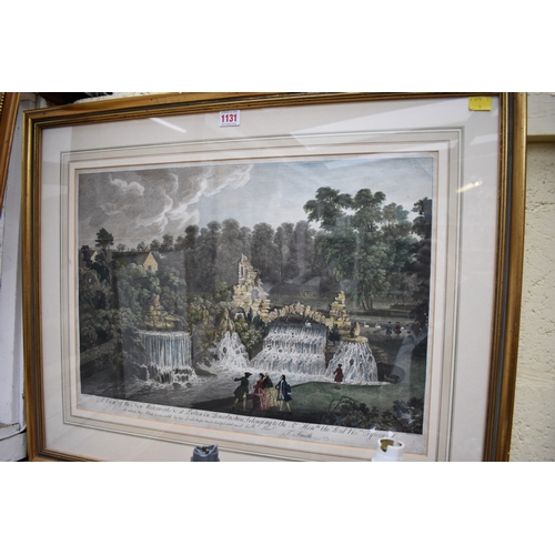 1131 - <strong>After J Smith,</strong>'A View of the New Waterworks at Belton in Lincolnshire...', co...