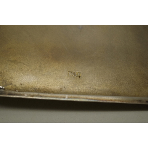 36 - <strong>Two silver cigarette cases, </strong>355g all in....