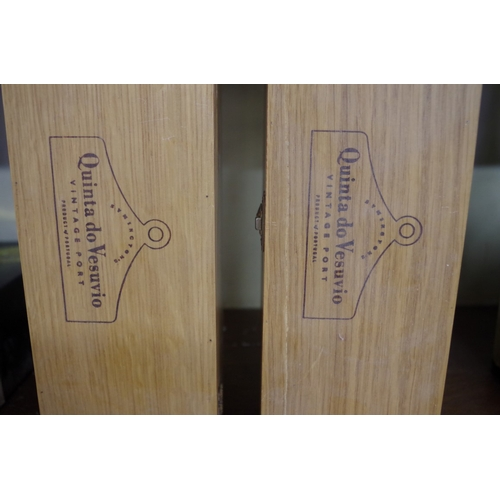 548 - <strong>Two 75cl bottles of Quinta do Vesuvio 1994 vintage port,</strong> each in owc. (2)...
