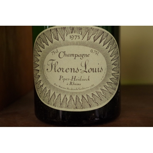 553 - <strong>A 75cl bottle of 1973 Florens-Louis Piper Heidsieck vintage champagne.</strong>...