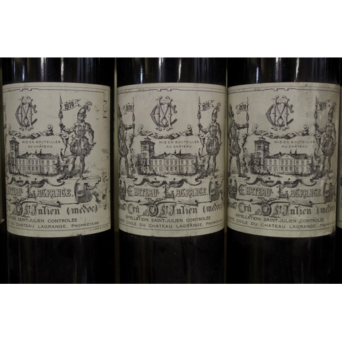 563 - <strong>Five 75clbottles of Chateau Lagrange 1970,</strong> St Julien. (5)...