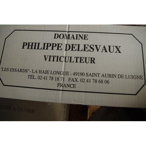 586 - <strong>A case of twelve 50cl bottles of Cote du Layon Selection Grains Nobles,</strong> 2001, P.Del...