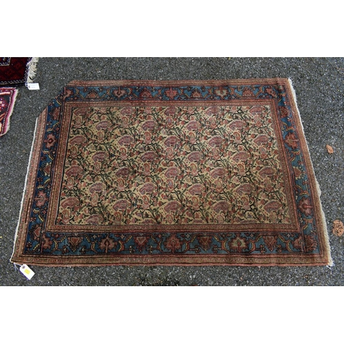 1103 - <strong>Three various rugs, </strong>largest 143 x 98cm....