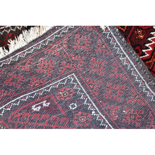 1103 - <strong>Three various rugs,</strong>largest 143 x 98cm....