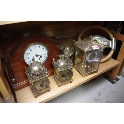 1156 - <strong>A collection of clocks and timepieces. </strong>...
