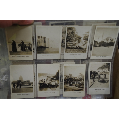 1381 - <strong>A collection of cigarette cards,</strong>to include a part set of Chinese examples....