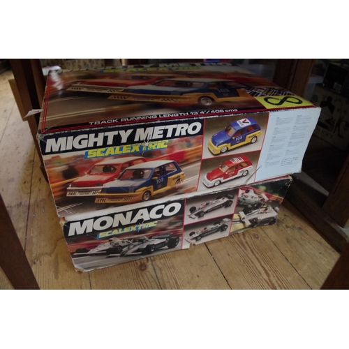 1499 - <strong>Two Scalextric boxed sets,</strong> comprising: C880 Mighty Metro and C909 Monaco....