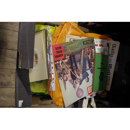 1501 - <strong>A large quantity of World War II related ephemera,</strong> to include later reprint newspap...