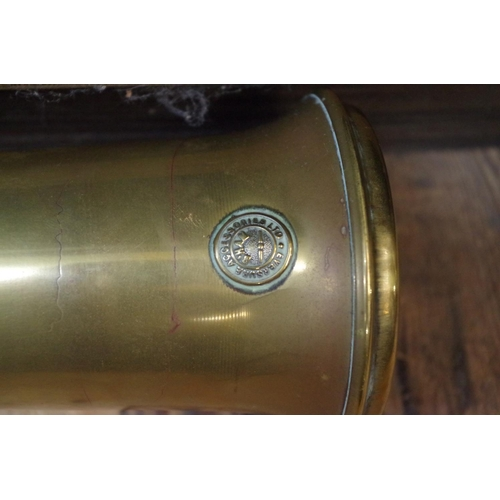 1622 - <strong>Automobilia: </strong>a vintage 'Eversure' brass car horn....