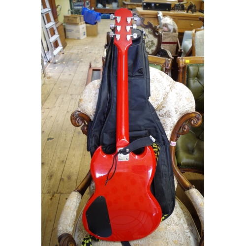1841 - <strong>An Epiphone Gibson electric guitar, </strong>in padded bag....