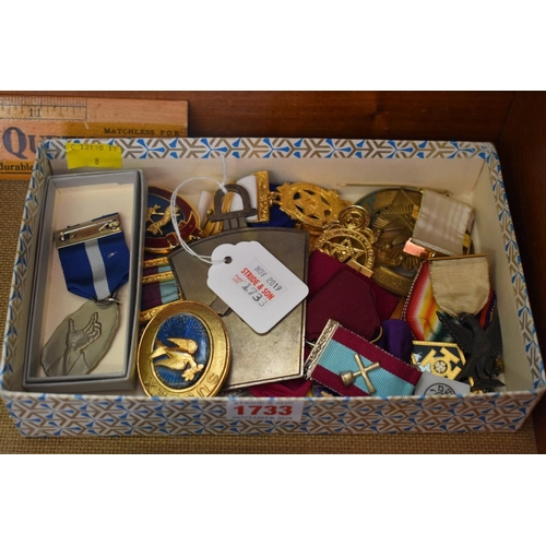 1733 - <strong>A collection of Masonic medals and related.</strong>...