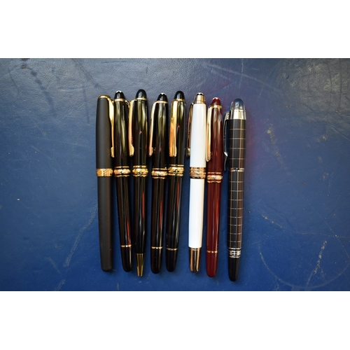 1716 - <strong>A collection of pens.</strong>...