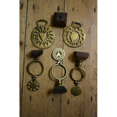 1673 - <strong>A collection of horse brasses, martingales and related.</strong>...
