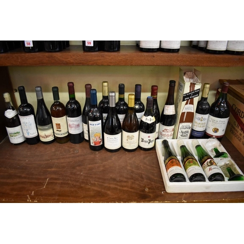 108 - <strong>A mixed lot of wine</strong>. (18)...
