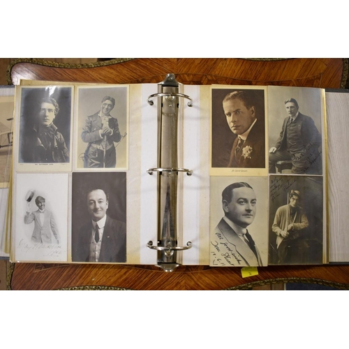 600 - <strong>STAGE & MUSIC HALL:</strong>a collection of approx 95 postcards and photographs, s...