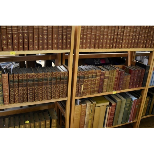 609 - <strong>BINDINGS:</strong>collection of 34 vols, 8vo and smaller, mainly 19thc literature in E...