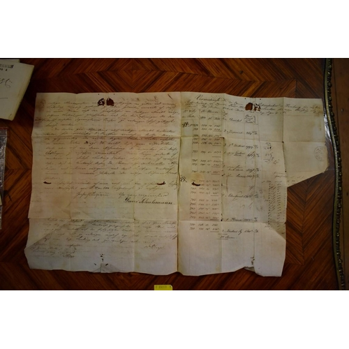 620 - <strong>POSTAL HISTORY:</strong>collection of 9 letters entire, 18th & 19thc, various mark...