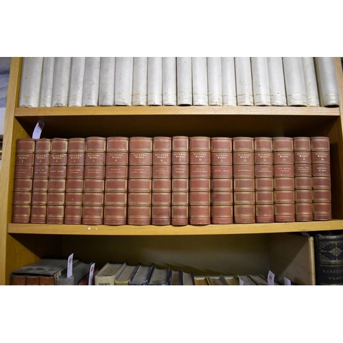 625 - <strong>DICKENS (Charles): </strong>'The Authentic Edition...the works of Charles Dickens in twenty-...