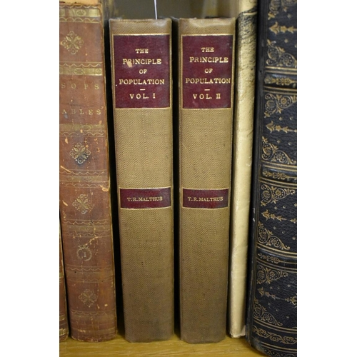 630 - <strong>(HP) MALTHUS (T R):</strong>'An Essay on the Principle of Population..' London, printed for...