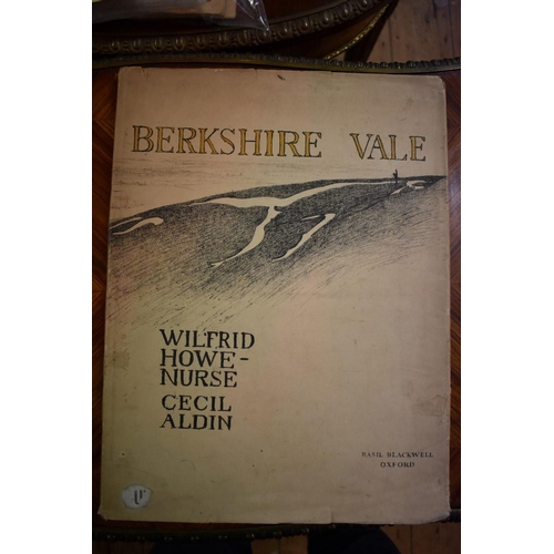 632 - <strong>(HP) ALDIN (Cecil, illustrator & HOWE-NURSE, Wilfred): </strong>'Berkshire Vale..', Oxfo...