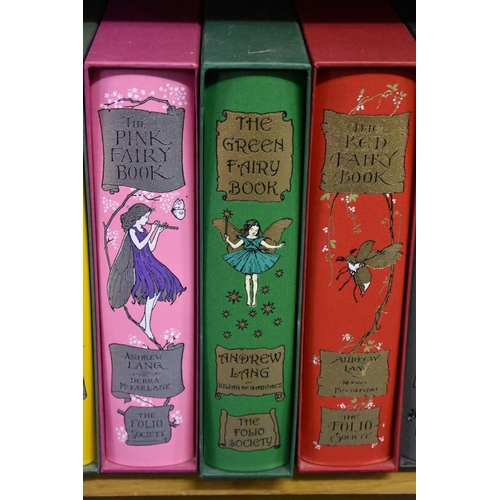 637 - <strong>FOLIO SOCIETY: </strong>Andrew Laing Fairy Books: a full set of twelve, all VG plus in origi...