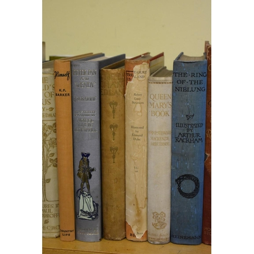 639 - <strong>(HP) ILLUSTRATED BOOKS:</strong>collection of 23 vols, early 20thc-modern illustrated books...