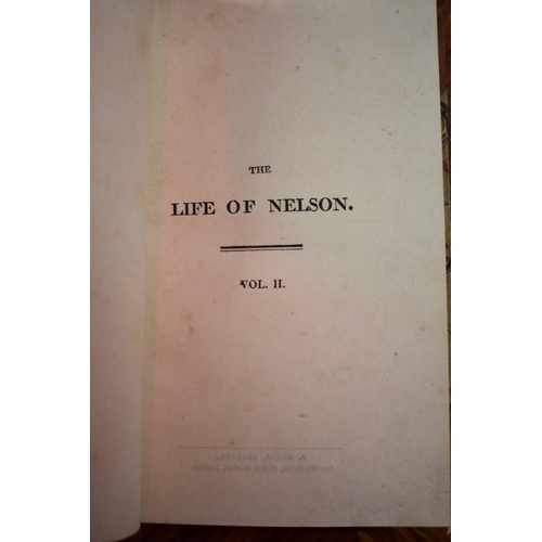 642 - <strong>(HP) SOUTHEY (Robert): </strong>'The Life of Nelson..', London, printed for John Murray, 181...