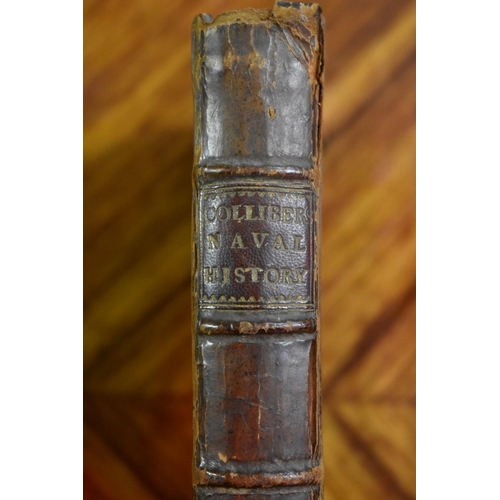 643 - <strong>COLLIBER (Samuel):</strong>'Columna Rostrata, or, a Critical History of the English Sea-Aff...
