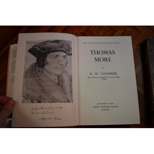644 - <strong>(HP) ROOPER (William):</strong>'The Life and Death of Sir Thomas Moore, Knt. Lord High-Chan...