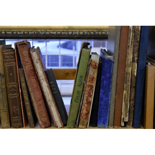 645 - <strong>(HP) CHILDREN'S & ILLUSTRATED:</strong>a quantity over three shelves, 19th-early 20thc ...