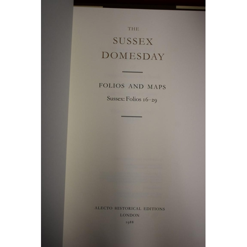 646 - <strong>SUSSEX DOMESDAY: </strong>'The Sussex Domesday..', Alecto Historical Editions, London 1990: ...