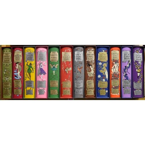 637 - <strong>FOLIO SOCIETY:</strong>Andrew Laing Fairy Books: a full set of twelve, all VG plus in origi...