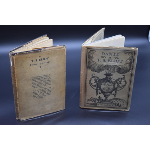 42 - <strong>ELIOT (T S):</strong>'Poems 1909-1925..' London, Faber & Gwyer, 1925: 8vo, publisher's ...