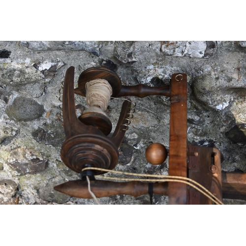 1012 - A Learn to Spin wood spinning wheel by Ashford Handicrafts Ltd.<strong>This lot can only be collect...