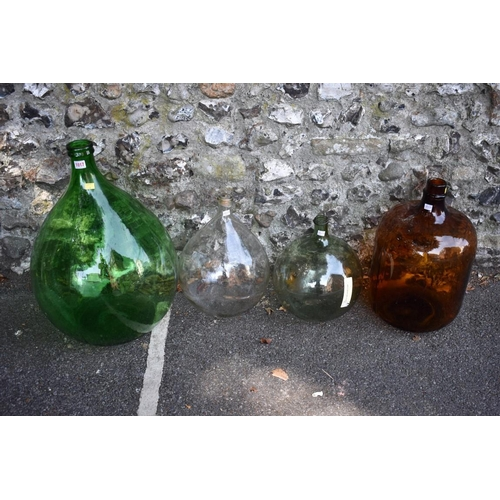 1017 - Four various carboys.<strong>This lot can only be collected on Saturday 5th September (10-2pm)</str...