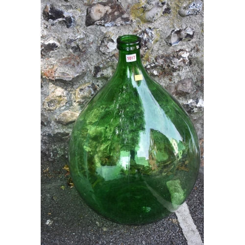 1017 - Four various carboys. <strong>This lot can only be collected on Saturday 5th September (10-2pm)</str...
