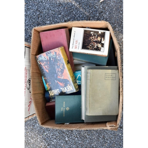 1027 - Two cartons of books.<strong>This lot can only be collected on Saturday 5th September (10-2pm)...