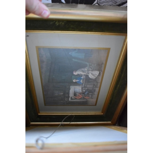 1030 - A quantity of pictures.<strong>This lot can only be collected on Saturday 5th September (10-2p...