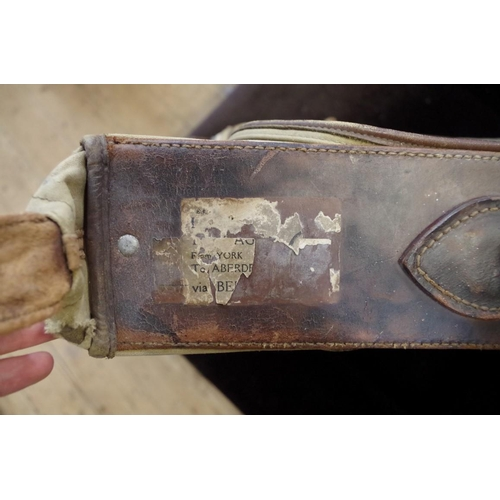 1467 - <strong>A scarce World War II US Army kit bag.</strong>...