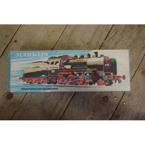 1563 - <strong>A collection of Marklin OO gauge railway items, </strong>most boxed....