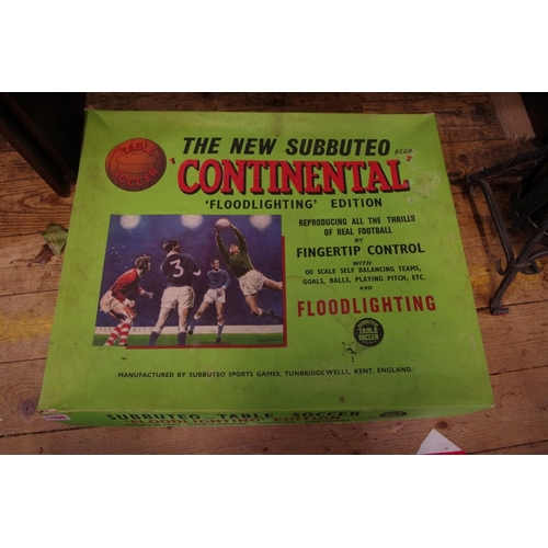 1566 - <strong>A vintage 'The New Subbuteo, Continental Floodlighting Edition', </strong>boxed....