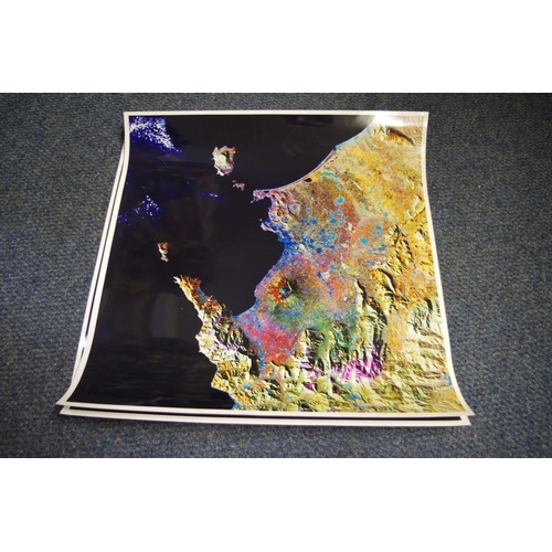 1720 - <strong>An interesting group of satellite images,</strong>to include: Africa; North and South Ameri...