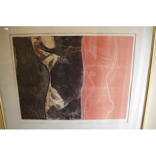 1725 - <strong>Ann Brunskill,</strong> 'The Lovers', signed, titled and numbered 17/30, colour lithograph, ...