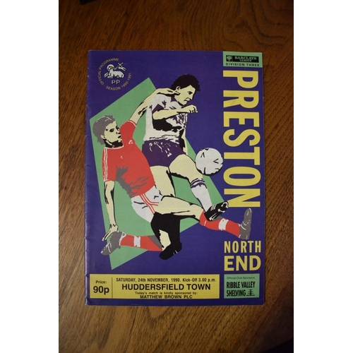 1759 - <strong>Football Programmes:</strong>a large and extensive collection of English and Scottish footb...
